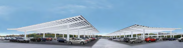 Train Station Solar Carports