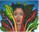 Sheryl Humphry's Rainbow Chard fine art print